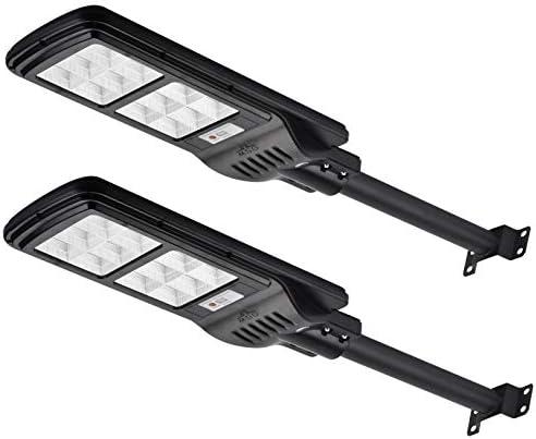 200W Solar Street Lights Outdoor Lamp 288 LED 10000 Lumen Light Control IP65 Waterproof Dusk product image
