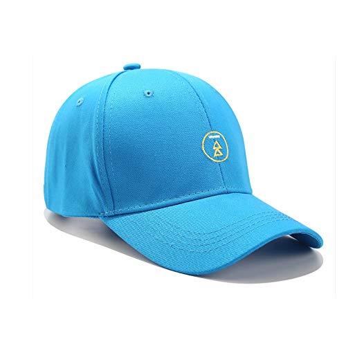 Gorra de béisbol negra ajustable para hombres y mujeres Material de algodón...