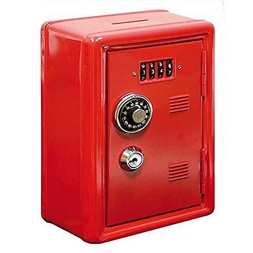 Hucha Caja Fuerte Locker Color Rojo