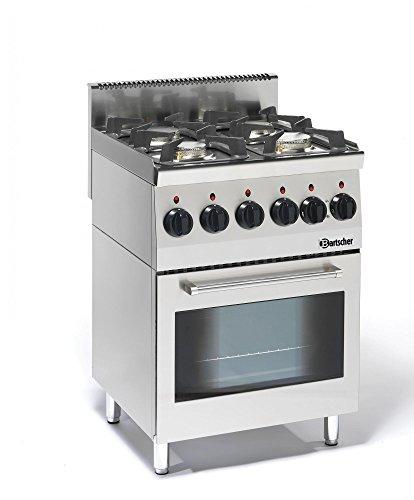 Bartscher 4 Flammen Gasherd Serie 600-1315563