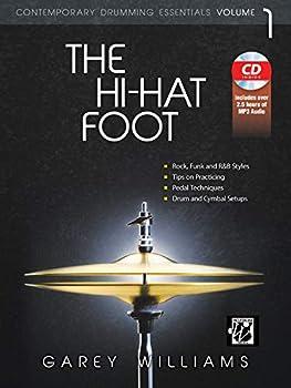 The Hi-Hat Foot  Contemporary Drumming Essentials Book & MP3 CD  Wizdom Media
