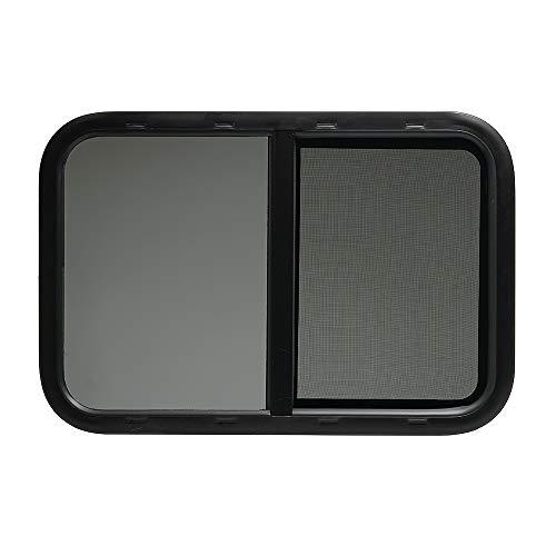 ToughGrade Horizontal Sliding Black RV Window 30