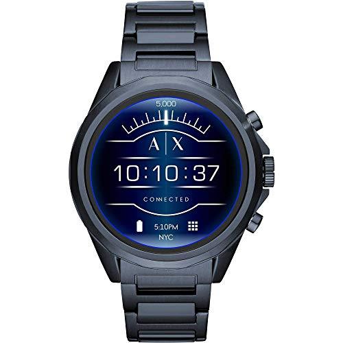Armani Exchange Smartwatch Da Uomo Con Cinturino In Acciaio Inossidabile...