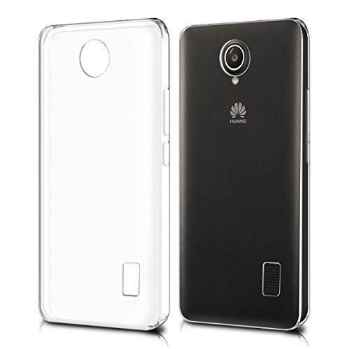 REY Funda Carcasa Gel Transparente para Huawei Y635 Ultra Fina 0,33mm, Silicona TPU de Alta Resistencia y Flexibilidad
