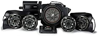 SSV Works RZ4-2KRC 2019 and Up Polaris RZR Turbo S Plug & Play 2 Kit with Kicker 6.5
