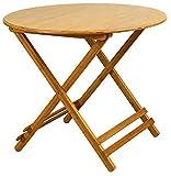 Oanzryybz Apoyos mesas de Escritorio portátiles Bamboo Bistro Café bocado Cara Plegables Ordenadores portátiles Modernos multifuncionales (Size : 70 * 65cm)