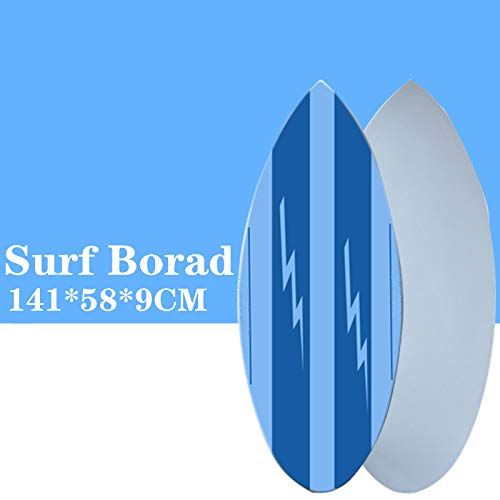 MROSW Finless Surfboard SUP Surf Board in Surfing Skimboard Blue Color Surfboard Let You Have A Great Surfing Experience