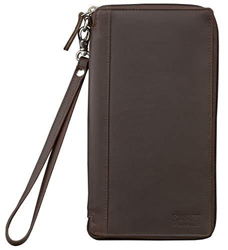 Koruma RFID Blocker Schutzhülle Reisetasche für kontaktlose Kreditkarten und biometrische Reisepass, Brieftasche (SM-947HBR)