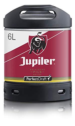 Bier PerfectDraft 1 x 6-Liter Fass Jupiler Bier - Lager. Zapfanlage für Zuhause. Inklusive 5euros Pfand.Ein 1x6-Liter Fass Jupiler Bier, Alc. 5.2% Vol. Zur Verwendung mit der PerfectDraft Zapfanlage.