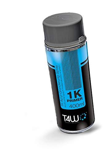 T4W Acrylfüller 1K Sprühfarbe Grundierung Füller Spray Grau - 400 ml (59101)