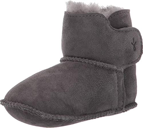EMU Australia Kids Baby Bootie Winter Real Sheepskin Boots Size 18M+ EMU Boots Charcoal