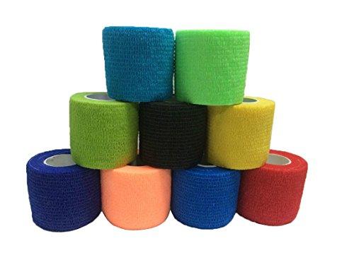 Grofitness elastische bandages, voor sport, bij pols- en enkelpijn, verstuikingen enz.