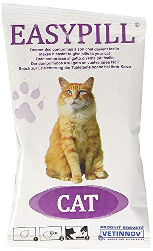 Easypill Katze - 4 Stuck x 10 Gramm Einzeln Verpackte Easypill Für Katzen