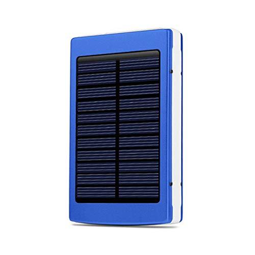Cargador De Banco De Energía Compacto De Gran Capacidad 70000Mah Panel Solar Portátil Cargador De Paquete De Batería USB Dual Batería Externa Móvil De Emergencia,40000
