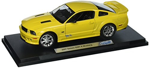 Welly Collection 1:18 2007 Saleen S281 Extreme Mustang Diecast Model Car