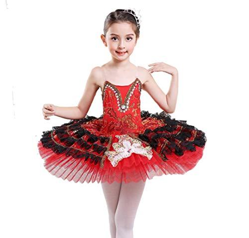 SMACO Kinderen Mouwloos Ballet Tutu Kostuum Ballet Jurk Patroon Ballet Dans Kleding voor Meisje Ballerina