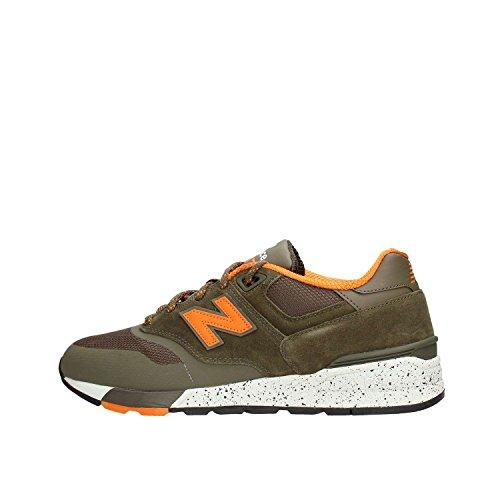 New Balance ML597SKJ Sneaker Hombre Verde 40½