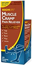 MagniLife Muscle & Leg Cramp Pain and Discomfort Relief Treatments (125 Tablets)