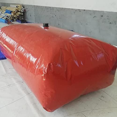 GDMING Plegable Transporte Bolsa De Almacenamiento De Agua, Alta Capacidad Carro Emergencia Resistente Al Clima Depósito De Agua para Granja De Jardín Regando Contenedor De Agua