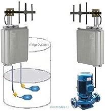 Wireless Long Range Start Stop Pump Level Control, 2Ch Supervised, 3 km, 12VDC Solar Ready