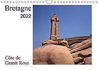 Bretagne - Côte de Granit RoseAT-Version (Wandkalender 2022 DIN A4 quer): Die Côte de Granit Rose hat viele Kuenstler zu ihren Bildern und Skulpturen inspiriert. (Monatskalender, 14 Seiten )