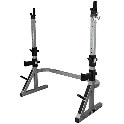 Valor Fitness BD-17 Squat Rack and Bench Press Rack for Home Gym Leg Exercise Machine and Chest Workout Equipment