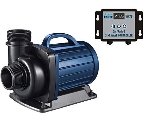 AquaForte Filter-/Teichpumpe DM-30.000 Vario S, 115-335W, Förderhöhe 9,5m, regelbar