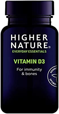 Higher Nature Vitamin D 500iu Pack of 120 from Higher Nature
