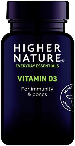 Higher Nature Vitamin D3 for immunity & bones, Pack of 120