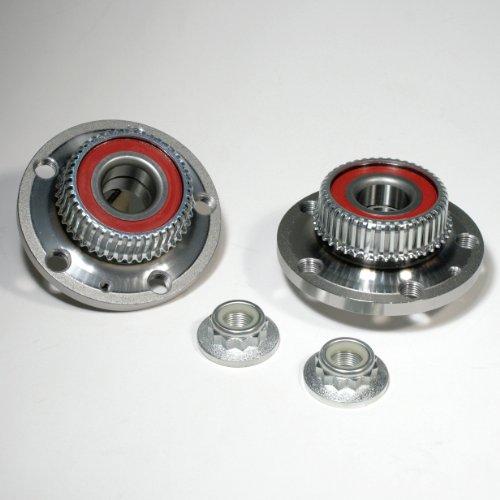 2 x Radnabe / 2 x Radlagersatz mit ABS-Sensorring hinten
