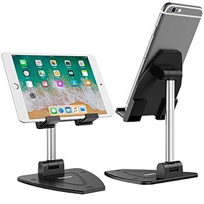 LDJZON Cell Phone Stand, Full Fodable Adjustabl...