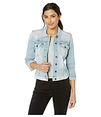 KUT from The Kloth Amelia Jacket in Compensate w/Light Base Wash Compensate W/Light Base Wash SM from KUT from the Kloth