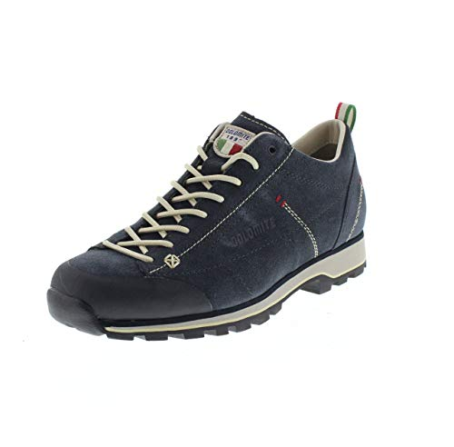 Dolomite Zapato Cinquantaquattro Low, Scarpe da Ginnastica Unisex-Adulto, Azul/Bianco Cord, 47 2/3 EU
