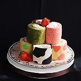 ロールケーキ 詰め合わせ ミニロール ギフト ロールケーキタワー 誕生日ケーキ プチケーキ (9個セット)