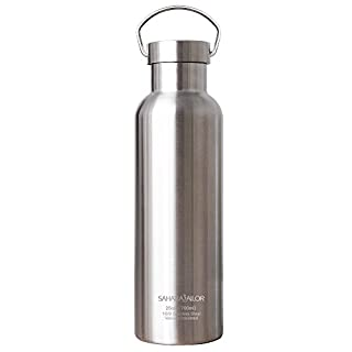 Sahara Sailor Sports Water Bottle Vacuum Stainless Steel Double Wall Insulated Water Bottle, 25 Oz (B071DTB9RC)   Amazon price tracker / tracking, Amazon price history charts, Amazon price watches, Amazon price drop alerts