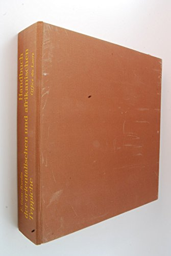 Handbuch der orientalischen und afrikanischen Teppiche