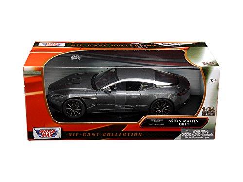 Aston Martin DB11 Silver 1/24 Diecast Model Car by Motormax 79345