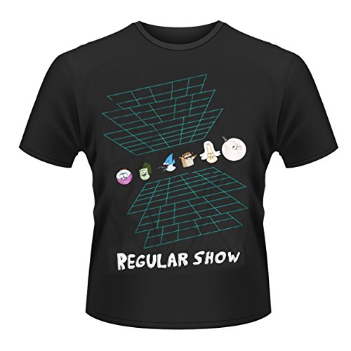 Plastic Head Regular Show Virtual Reality T-Shirt, Noir, S Homme