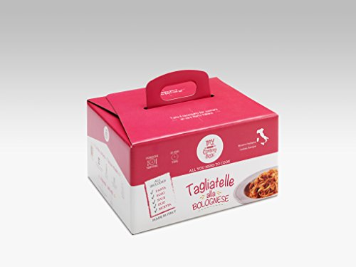 TAGLIATELLE MIT BOLOGNESE SAUCE My Cooking Box x2 Portion - Geschenkidee