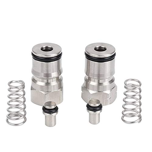 MRbrew Cornelius Type Ball Lock Keg Posts,Stainless Steel Poppets and...