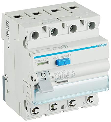 Hager FI-Schutzschalter CDS440D
