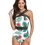 Bañadores Mujer Leopardo Natacion Trajes de Baño de Una Pieza Bikinis Tallas Grandes Trikini...