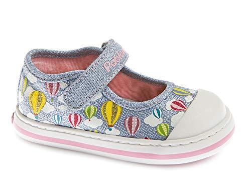 Zapatillas De Lona Niña Pablosky Azul 961211 27
