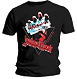 Judas Priest 'British Steel Hand Triangle' T-Shirt - New & Official!