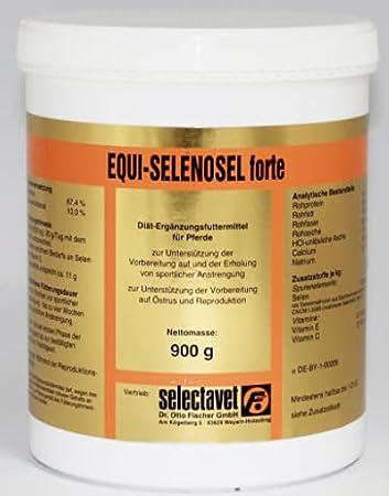 Selectavet Equi Forte - Pesca (900 g)
