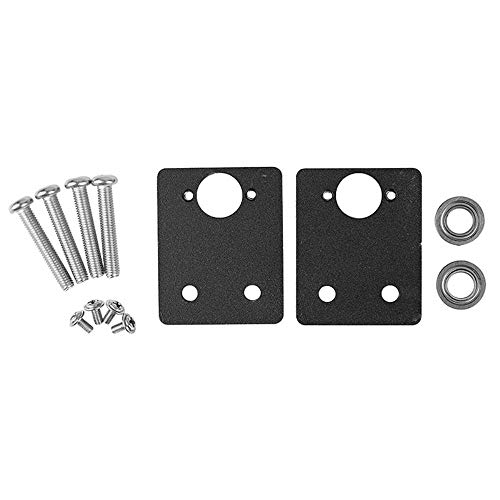 3D Printer Parts Dual Z-Axis Stabilizer Metal Z-Rod Bearing Holder Upgrade Z Axis Leadscrew Top Mount for Creality Ender-3