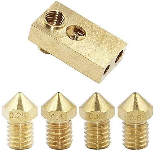 Printer Accessories DIY 3D Printer Ultimaker 2+ UM2 Extended + Olsson Block Kit for 1.75/3mm Filament Olsson Block Hotend Interchangeable Nozzle 3D Printer Parts (Size : 3.0mm) (Size : 1.75mm)