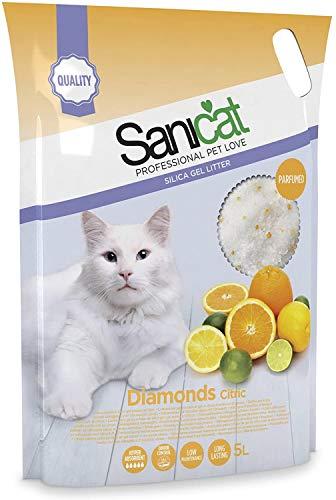 Sanicat Lettiera per Gatto Diamond Citric 5L
