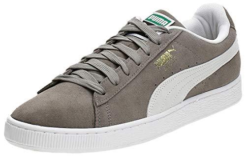 Puma Unisex-Erwachsene Suede Classic+ Sneaker, Grau (steeple gray-white), 46 EU