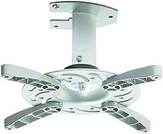 Soporte de techo para proyector en blanco inclinable 30° girable 360° para BenQ MW705